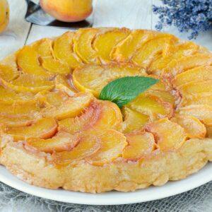 Galette Peach